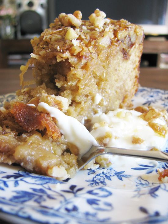 Banana, Coconut and Rum Cake - replace regular flour with GF blend mix ...