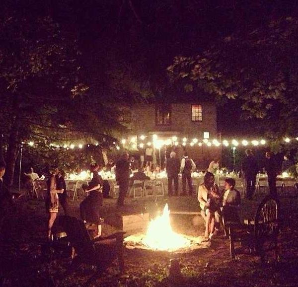 Backyard Bonfire Wedding : Backyards