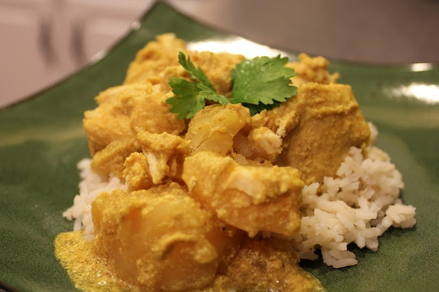 Slow-Cooker Coconut Chicken Curry