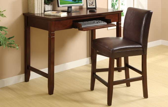 Counter Height Writing Desk ~ for that odd spot in the living room.