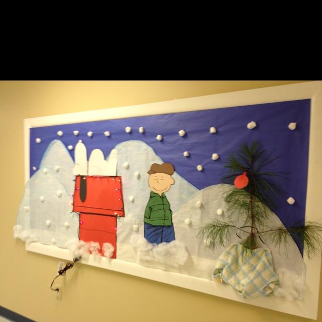 cute christmas bulletin board ideas | just b.CAUSE