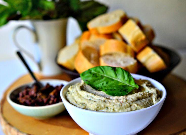 Summertime Basil and White Bean Dip - Vegan