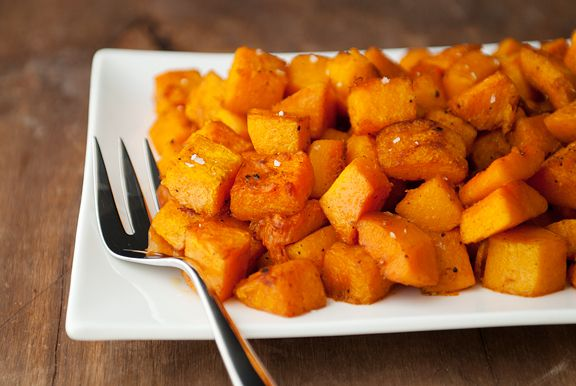 roasted butternut squash with moroccan spices recipe - this is one of ...