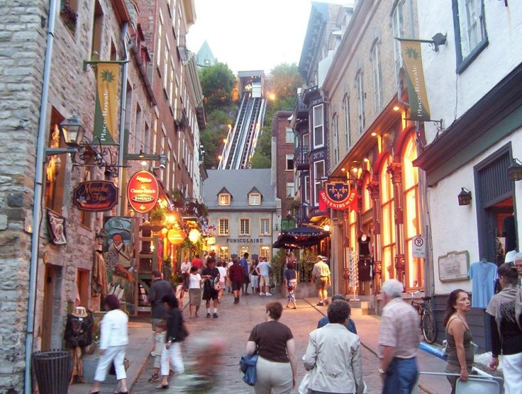 Romantic And Beautiful Quebec City Places We 39 Ve Been Pinterest