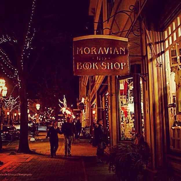 Moravian book shop is the oldest continuously operating book store in