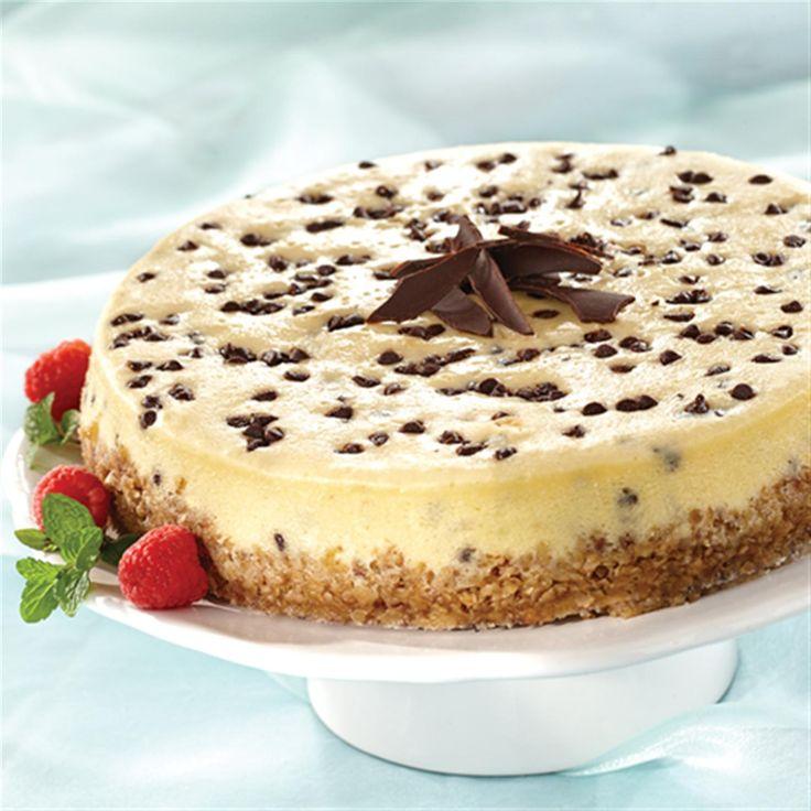 Chocolate Chip Cheesecake | Recipe