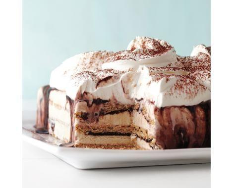 Fudgy Ice Cream Cake Recipe | Food Recipes - Yahoo Shine *Use honey ...