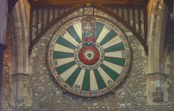 King Arthur 39 S Round Table In Winchester Winchester Pinterest