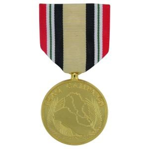 Iraq campaign anodized full size medal criteria the icm is awarded