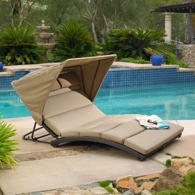 Pin by ann blackman on outdoors pinterest for Ava chaise lounge costco