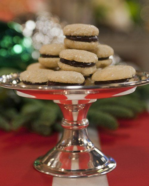 MS: Sparkling Vanilla Sandwich Cookie Try this recipe, adapted from ...