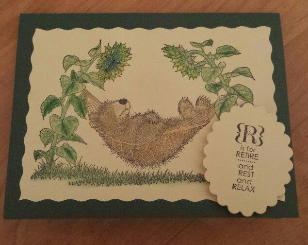 Retirement Card - Relaxed Bear   Cards   Pinterest