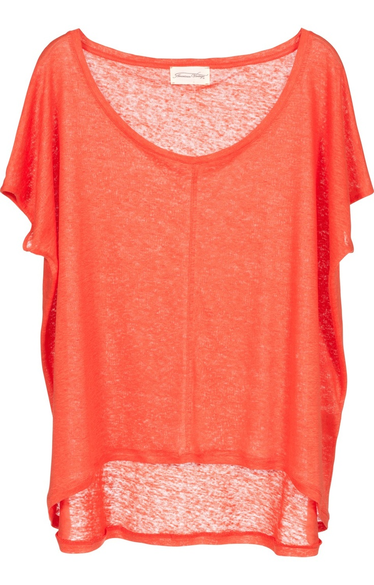 The perfect everyday summer top and color too!.