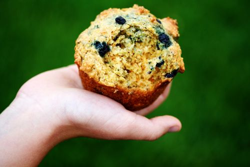 Blueberry corn muffins | Breakfast | Pinterest