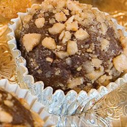 Chocolate Toffee Truffles | Candy Land | Pinterest