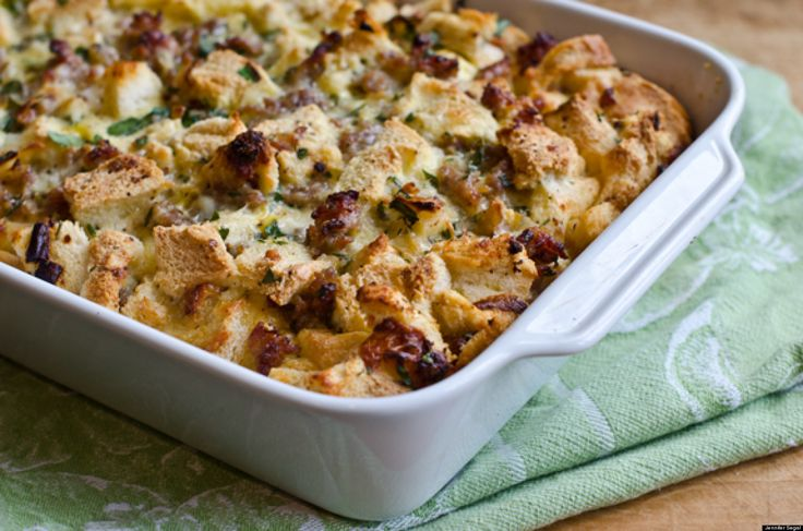 Savory Sausage and Cheddar Bread Pudding: The Ultimate Make-Ahead Bru ...