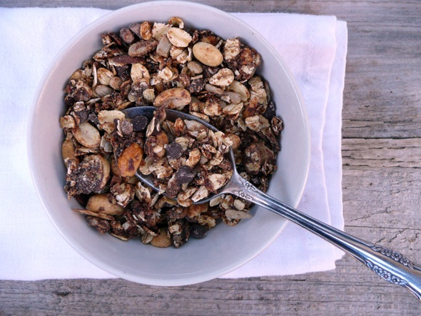 Chocolate Granola! Now, how many kids would gobble that down for ...