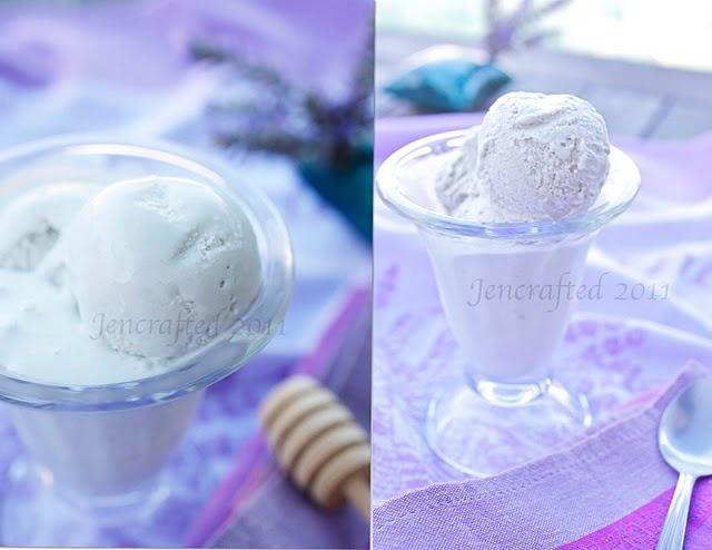 Lavender Honey Ice cream | Tasty Delights | Pinterest