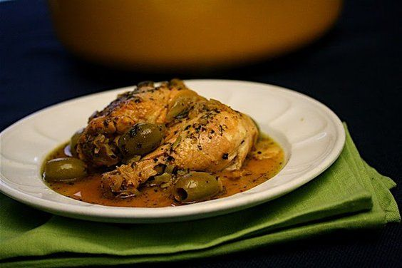 Chicken Tagine with Fennel, Preserved Lemons, and Green Olives | Reci ...