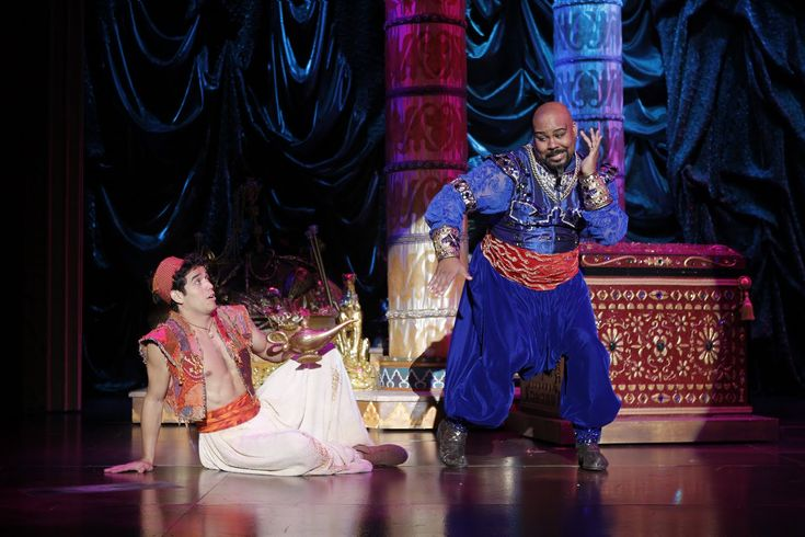 James Monroe Iglehart als Genie in Disneys Aladdin