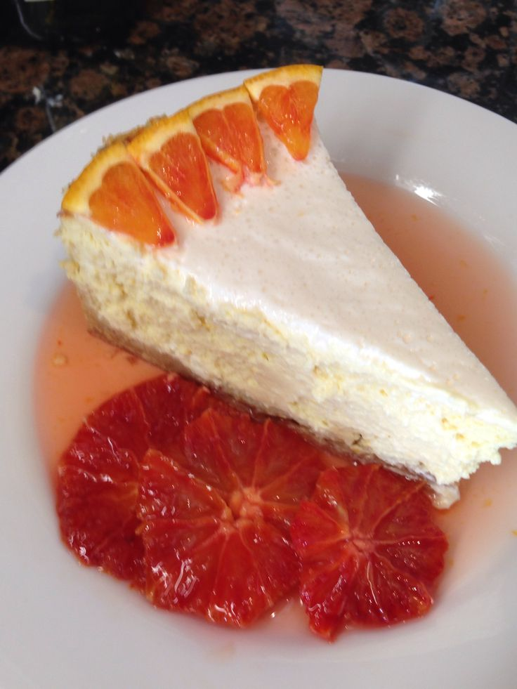 Orange-Vanilla Ricotta Cheesecake Recipe — Dishmaps
