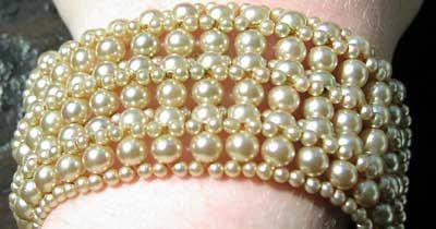 glass pearls?