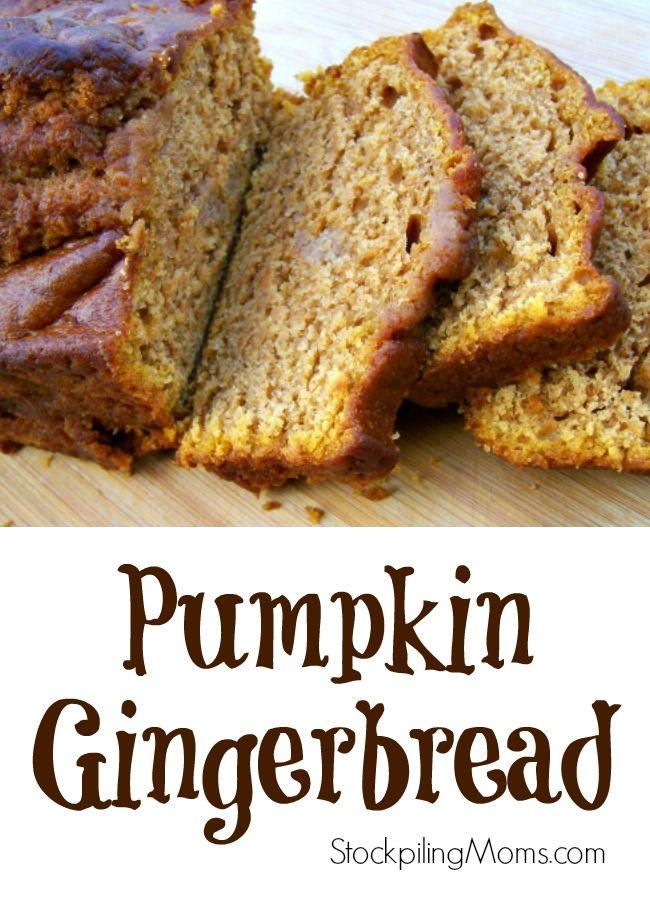 Pumpkin Gingerbread | Eat Dessert First | Pinterest