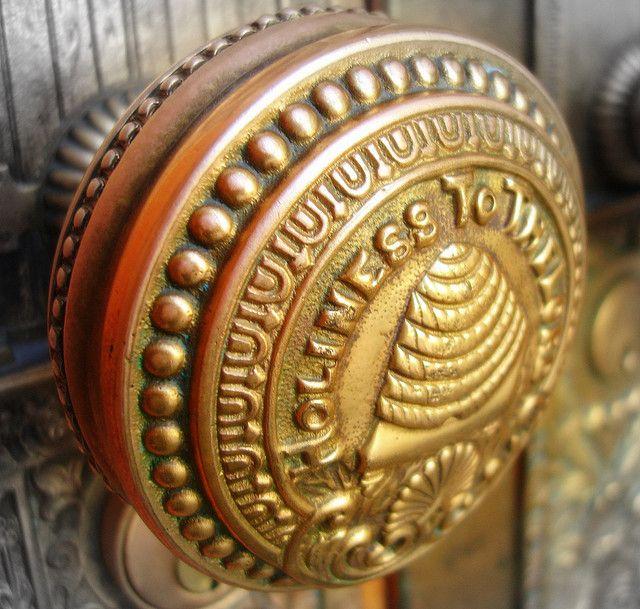 Decorative Door Knob Messing With Metal Pinterest