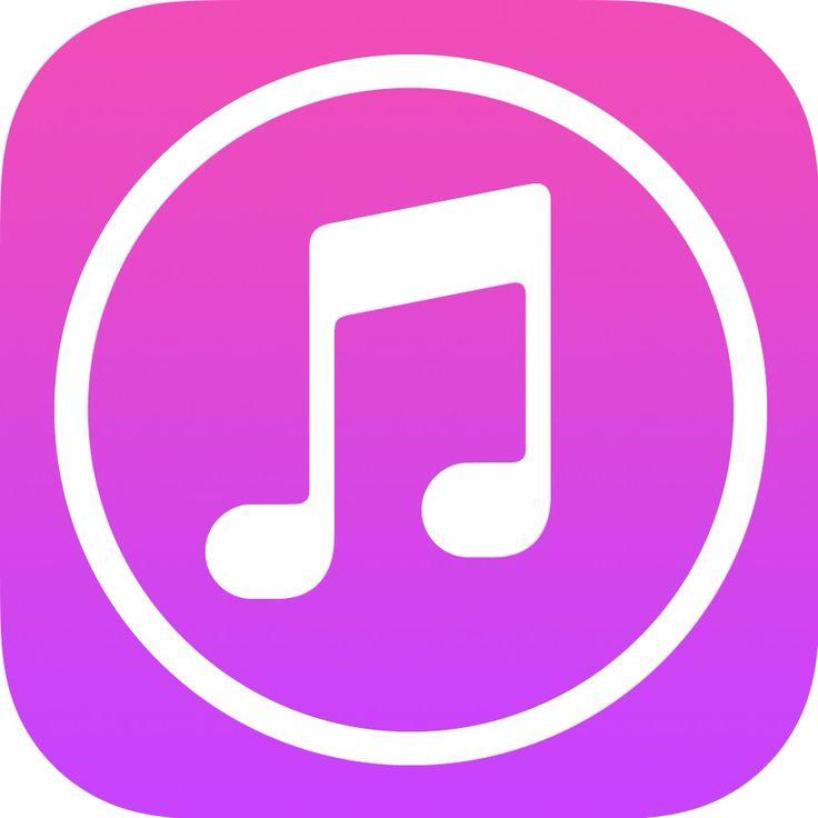 iTunes App icon | App Icons | Pinterest