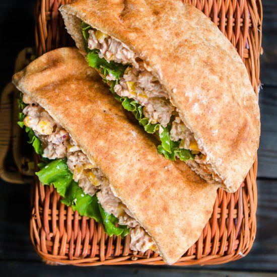Honey Chipotle Barbecue Chicken Salad | almuerzo | Pinterest