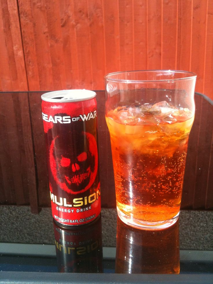 Gears Of War Imulsion Energy Drink