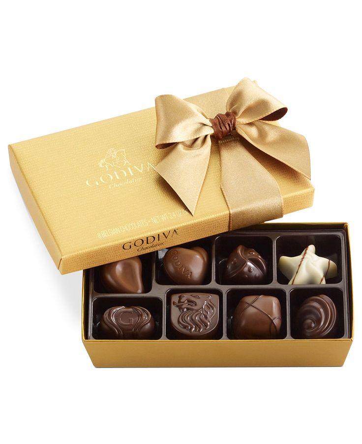 Chocolate Gift Box Flipkart : Godiva chocolatier pc gold bow ballotin box of chocolates