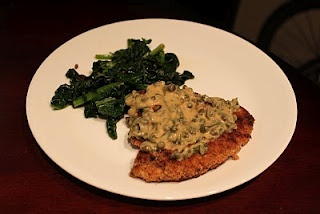 Crispy Parmesan Chicken with Lemon Caper Sauce (MB note: try it with ...