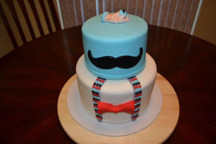 Themed Baby Shower Cake by