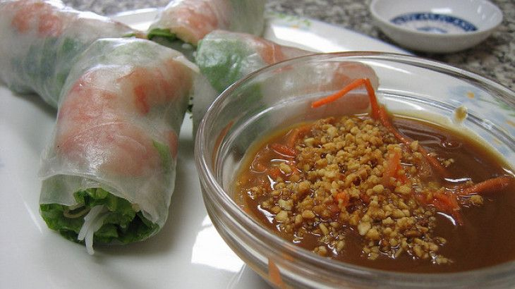 Vietnamese Spring Roll Dipping Sauce Pin by Shirley Sunshin...