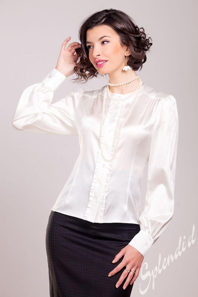 Блузка С Пышными Рукавами С Доставкой