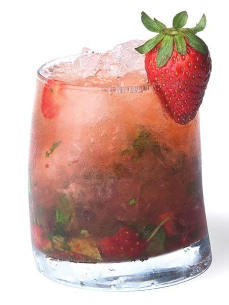 Strawberry & Mint Caipirinha | Mint Condition | Pinterest