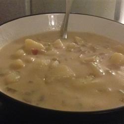 Delicious Ham and Potato Soup | Dinner | Pinterest