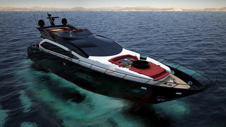 101 sport yacht the black legend sunseeker yachts 2014