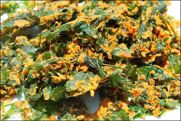 Cheesy Kale Chips (Raw & Vegan) | Food52.com