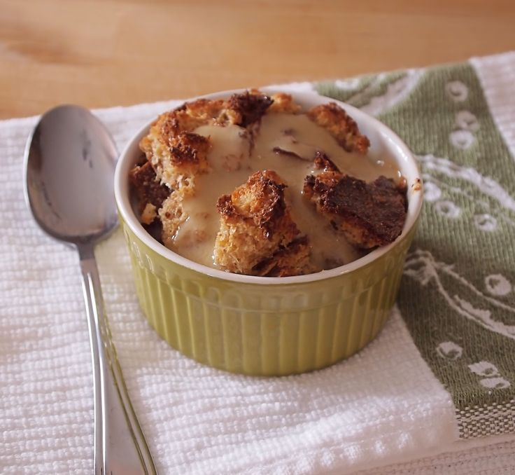Baileys Bread Pudding with Whiskey Butter Sauce - Tramplingrose