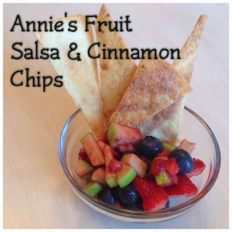 The Lewis Family: Annie's Fruit Salsa & Cinnamon Chips