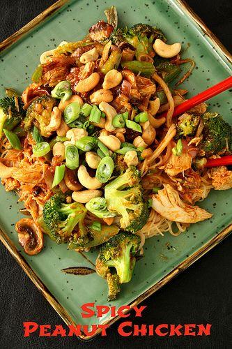 Spicy Peanut Chicken Quesadillas Recipes — Dishmaps