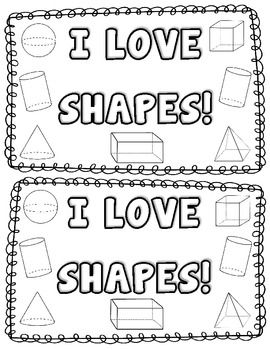 3D Shape Activity {My 3D Shapes Mini-Book} {Common Core Aligned 3D Sh ...