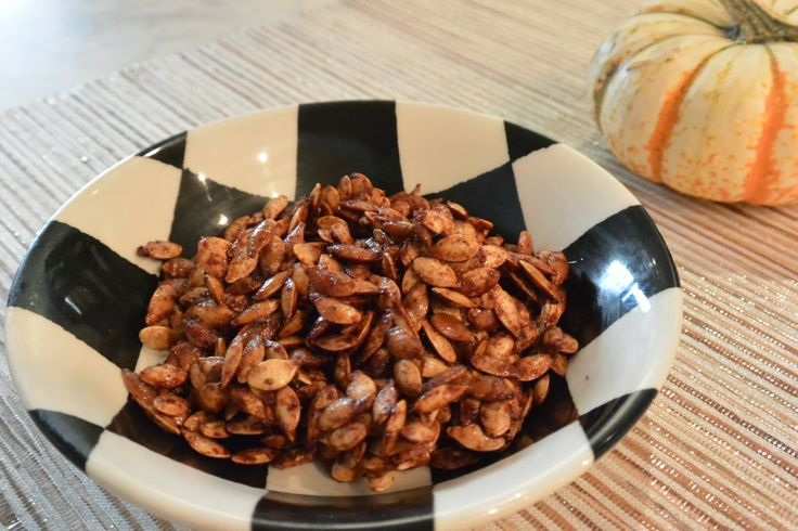 Life with a Dash of Whimsy: Pumpkin Pie Spiced Pumpkin Seeds