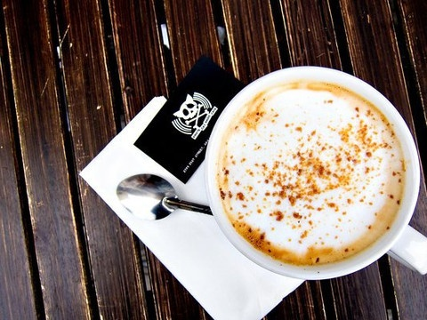 Maple Bacon Latte - double espresso latte with maple syrup and bacon ...