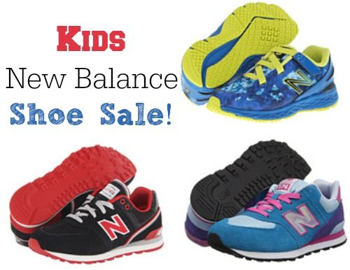 Up to 65% Off New Balance Shoes for Kids! http://www.couponcloset.net
