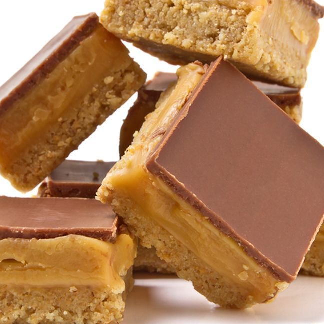 Caramel Shortbread Squares. | Christmas Baking Treats | Pinterest