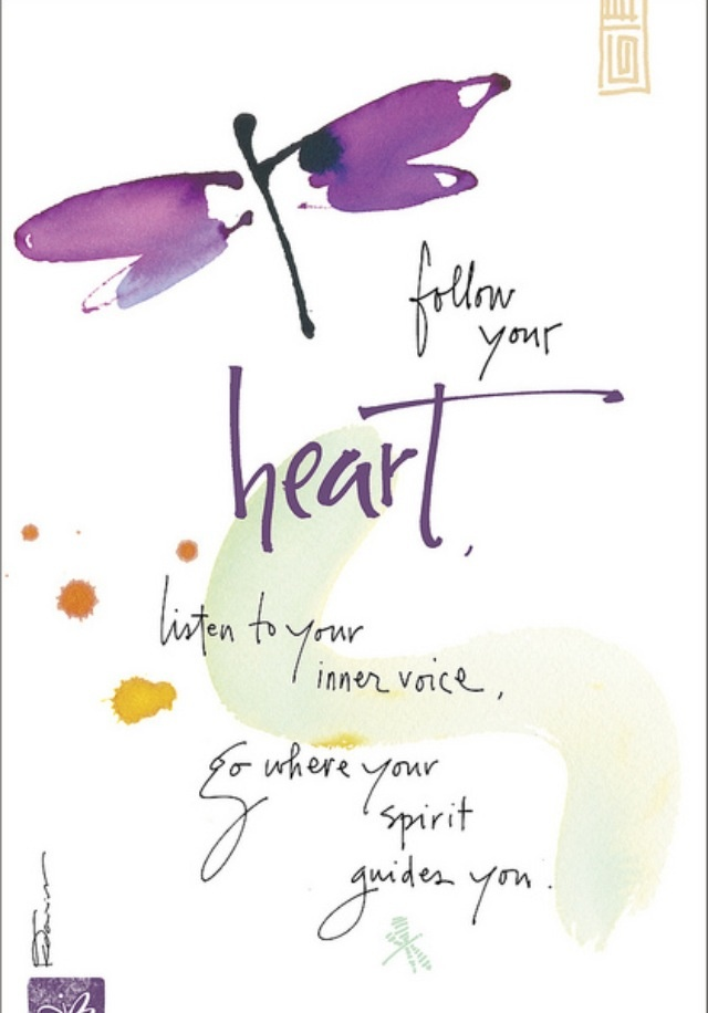 follow your heart inspiration quotes pinterest