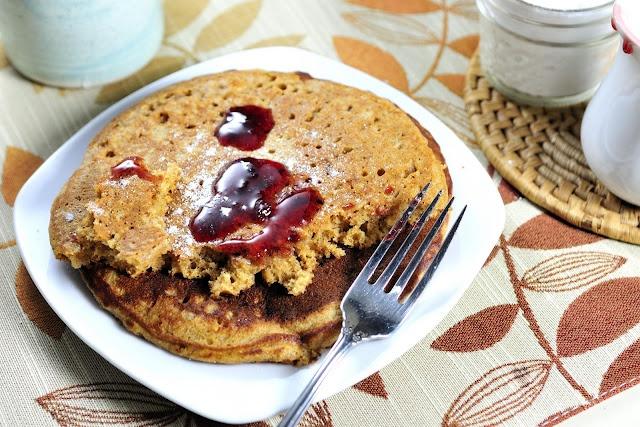 Whole Wheat Sweet Potato Pancakes | Breakfast | Pinterest